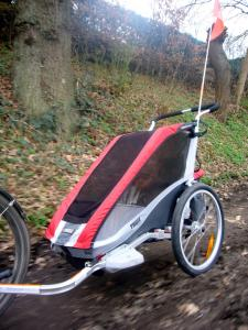 thule chariot cougar 1 blog salt trail seekers. Black Bedroom Furniture Sets. Home Design Ideas