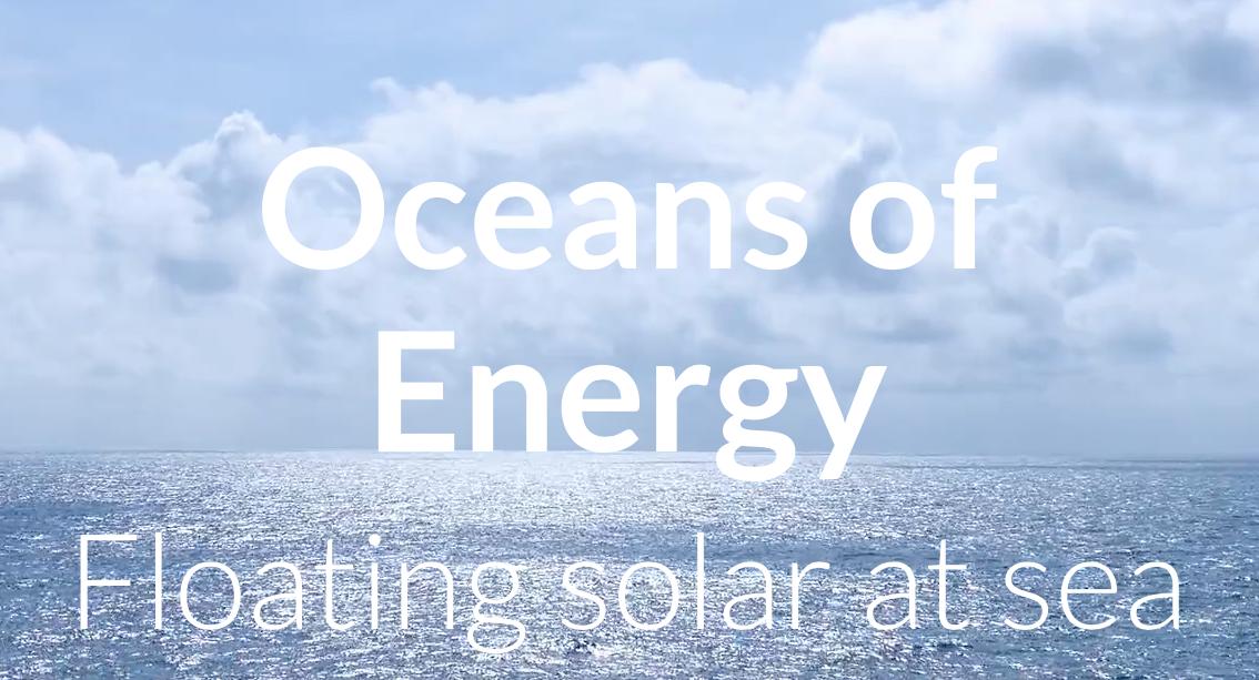 Nederland gaat eerste zonnefarm op zee ter wereld bouwen