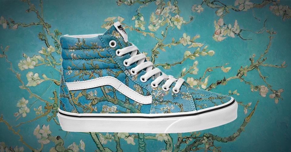 6ddcd0d9f95655 Skatemerk Vans en het Van Gogh Museum in Amsterdam hebben de handen  ineengeslagen voor een unieke collectie. De meesterwerken Schedel