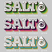 Salt Logo T-Shirt - DAMES